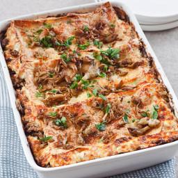 Mushroom & Sausage Lasagnette
