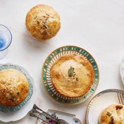 Mushroom-Thyme Pot Pies