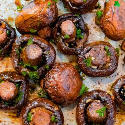Mushrooms - Soy Sauce Glaze