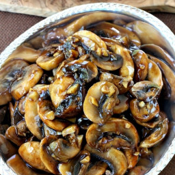 Mushrooms with Oyster Sauce