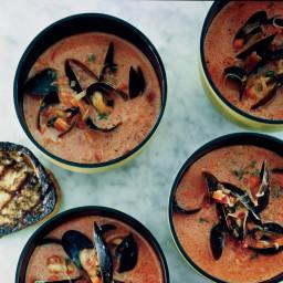 Mussel and Chorizo Soup