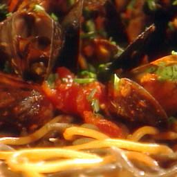 Mussels alla Diavola