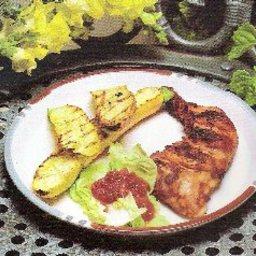 Mustard-Lamb Kebabs