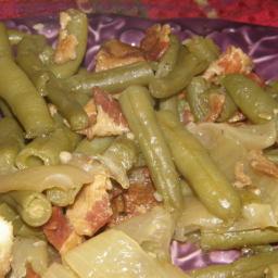 My Crock Pot Green Beans