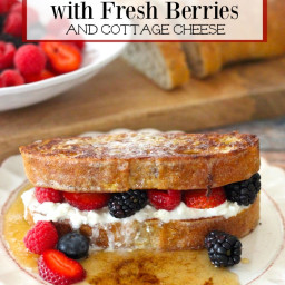 My Favorite Breakfast ~ French Toast with Berries