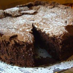 My Favorite Flourless Chocolate Cake