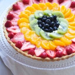 My Favorite Fruit Tart