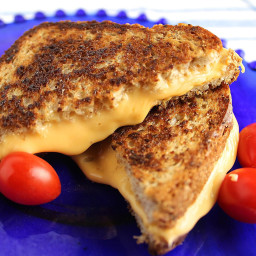 My Favorite Grilled Cheese Sandwich