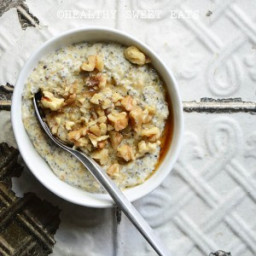 My Favorite Noatmeal (aka Low-Carb Oat-Free Porridge): The Basic Recipe and