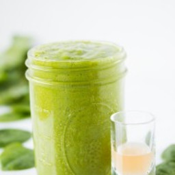 My Green go-to smoothie with secret ingredient