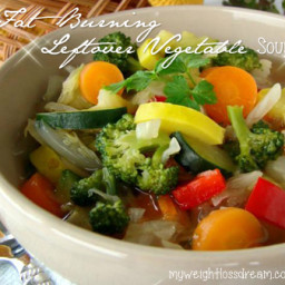 My Spicy Fat Burning Leftover Vegetable Soup