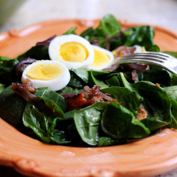 MY spinach salad