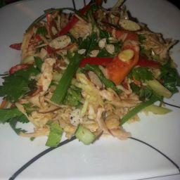 My Thai chicken salad