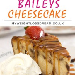 My Yummy Slimming World Baileys Cheesecake