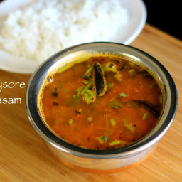 mysore rasam recipe | south indian rasam recipe with coconut