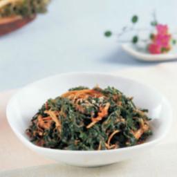 Naengi Namul / Shepherd's Purse (냉이나물)