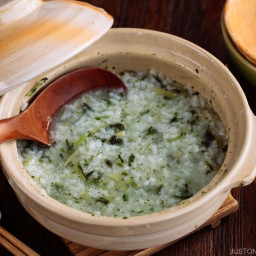 Nanakusa Gayu (Seven Herb Rice Porridge)