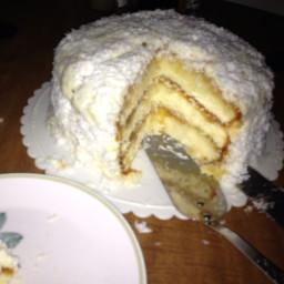 Nannys Famous Coconut-Pineapple Cake