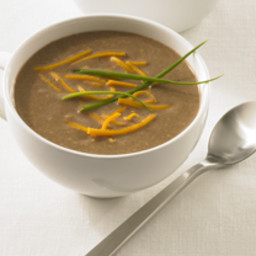 Native American Toasted-Pecan Soup