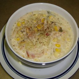 Nautico's Corn-and-crab Chowder