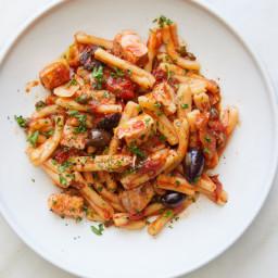 Neapolitan Pasta With Swordfish