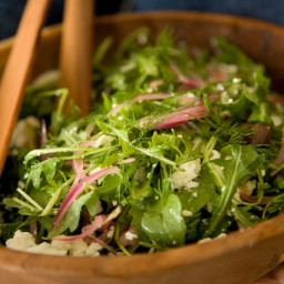 Neilson Public Green Salad with Olive Dressing