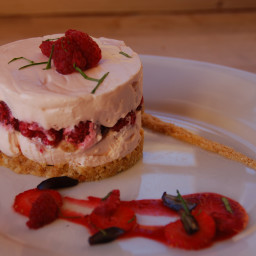 Neilson Raspberry Cheesecake, Poppy Seed Base
