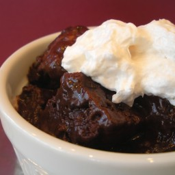 Nellie's Chocolate Bread Pudding