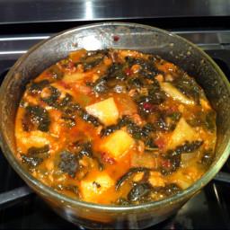 New Bedford Portuguese Kale Soup