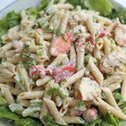 New England Lobster Pasta Salad