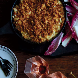 New England-Style Crab Dip with Brown-Butter Crumbs