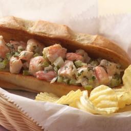 New England-Style Shrimp Rolls with Lemon-Herb Mayonnaise