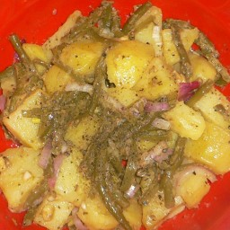 New Potato and Green Bean Salad