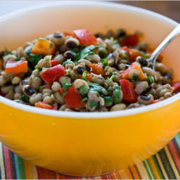 New Year's Black-Eyed Pea Salad