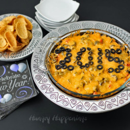 New Year's Eve Party Appetizer Recipe - Taco Dip