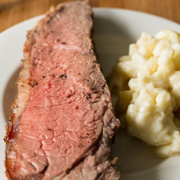 New York Strip Roast with Savory Crust