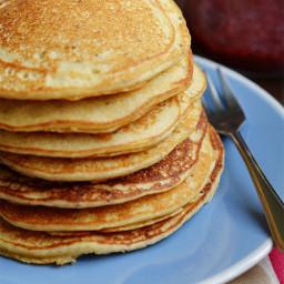 Newbie Gluten Free Pancakes