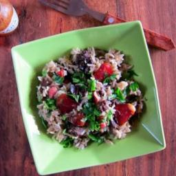 New Orleans Dirty Rice - pressure cooker recipe