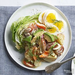 New Potato, Avocado, and Egg Salad