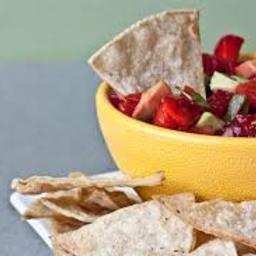 Nicoles Strawberry Avocado Salsa