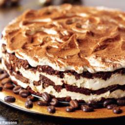 Nigella's Tiramisu layer cakes