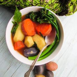 Nigerian Vegetarian Peppersoup