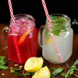 nimbu paani recipe | fresh lime juice recipe | nimbu or limbu sharbat