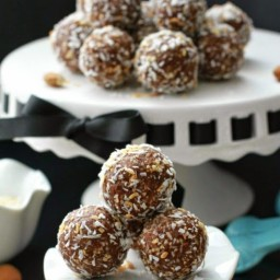 No-Bake Almond Joy Energy Bites