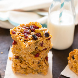 No-Bake Breakfast Cereal Bars