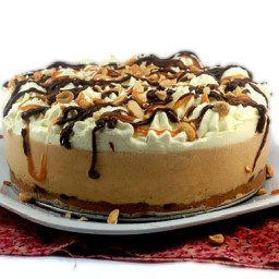 No-Bake Creamy Deep Dish Peanut Butter Pie