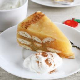 No-bake Layered Apple Cake
