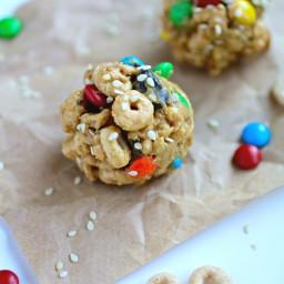 No-Bake Monster Cereal Bites