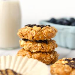 No Bake PB Oatmeal Cookies - Planters