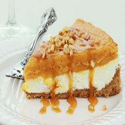 No-bake Pumpkin Cream Pie
